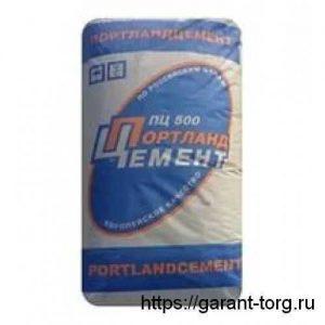 Цемент М500 Д0 ЗАО «Осколцемент» в мешках 50 кг.