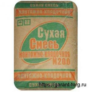 Смесь Монтажно-Кладочная м 200 «Воскресенск» 50 кг.