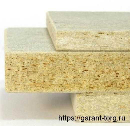 ЦСП-цементно-стружечная плита 3200×1250х24 мм.