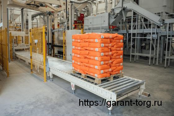 Как фасуют цемент